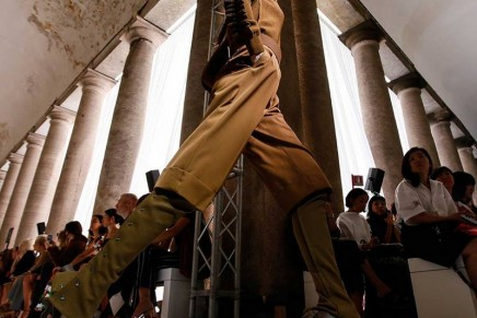 Max Mara rewrites Greek myths at Milan fashion week