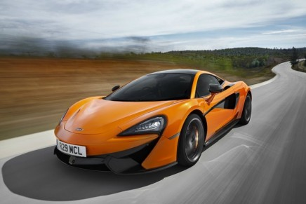 McLaren's new approach to open-top supercars: the new 570S Push Sports Car