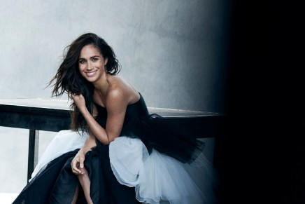 Meghan pays tribute to fashion photographer Peter Lindbergh