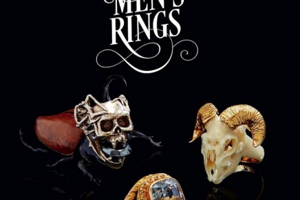 Men's Rings in the spotlight – a breathtaking collection of men's rings belonging to Yves Gastou