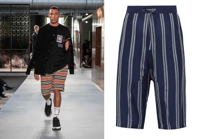 menswear trends 2019 - shorts
