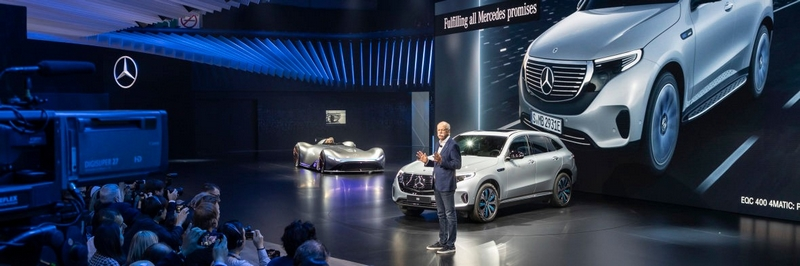 mercedes-benz at paris auto show