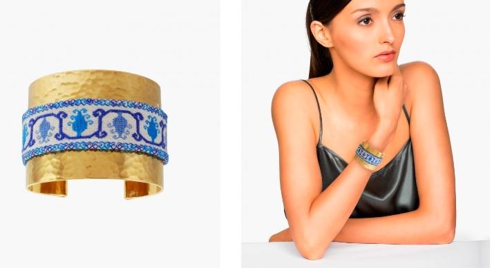 mercedessalazar capsule collection 2019 x The Luxury Collection-Tuna Azul bracelet