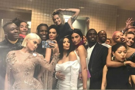 Kylie Jenner's bathroom selfie and Diddy's stairway nap: power moves at the MetGala 2017