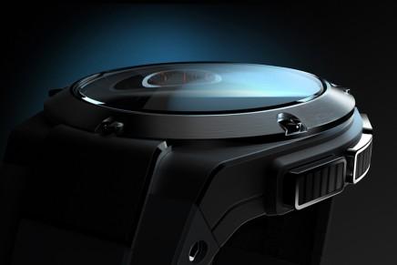 Michael Bastian x Hewlett-Packard Smartwatch – a personal dashboard for your digital life