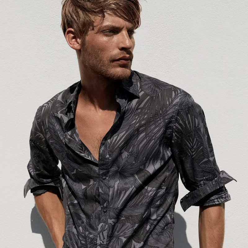 michael kors men's collection ss2018Rugged yet Refined