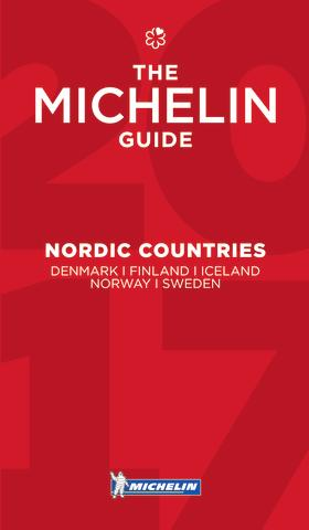 michelin guide nordic countries 2017