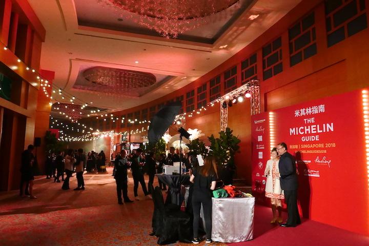michelin guide singapoe third edition - gala evening