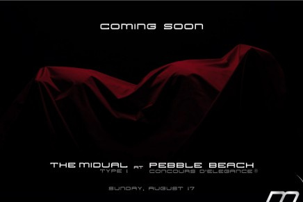 Midual preparing a comeback at the Pebble Beach Concours d'Elegance