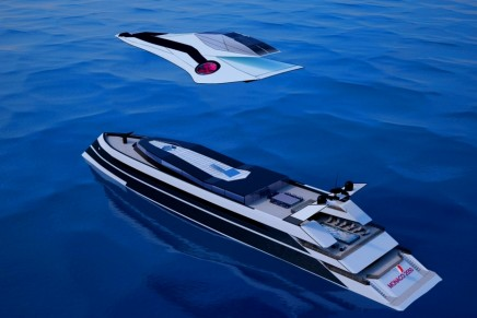Futuristic luxury cruiser to have its very own private jet