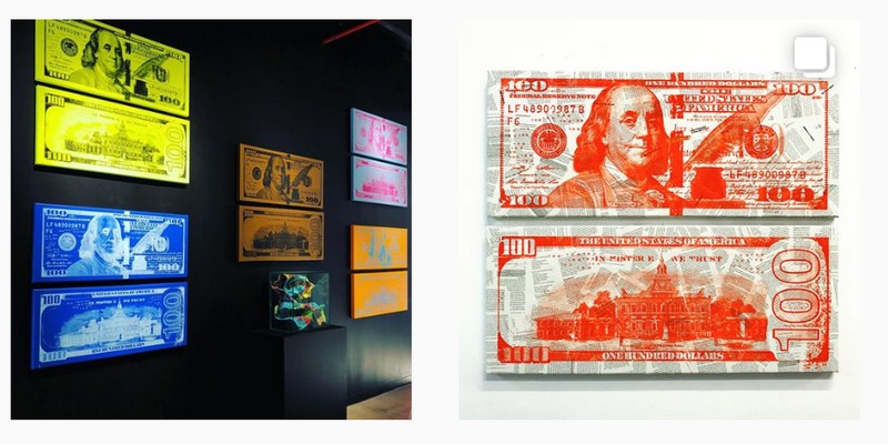 money is not real - mister e exhibition 2017