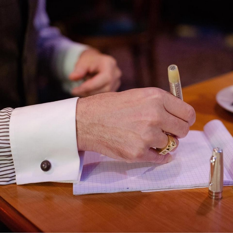 montegrappa pen cuff links