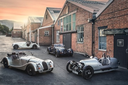 110 Anniversary' models added to the Morgan Motor's line-up