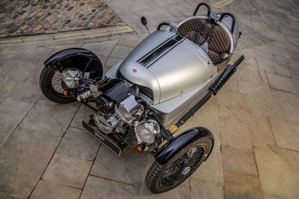 Morgan Three Wheeler – the ultimate luxury toy