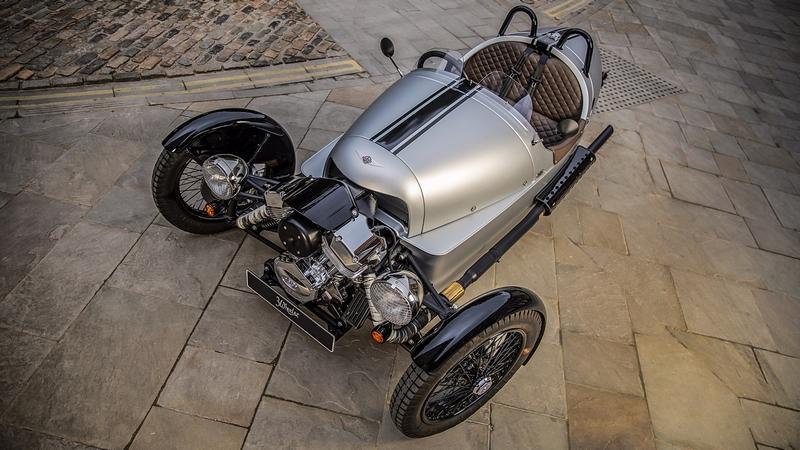 morgan motor 3-wheeler above