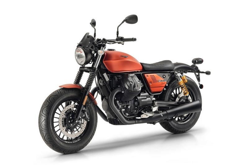 moto guzzi V9 Bobber Sport-