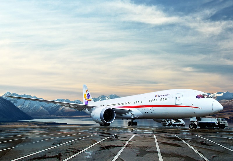 n September 2016, Deer Jet tookover the management of the world's first 787 Dream Jet.