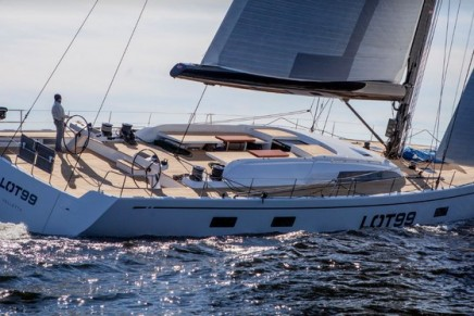 Sporting luxury and timeless class at 2017 Cannes Yachting Festival: new Swan 95 LOT99