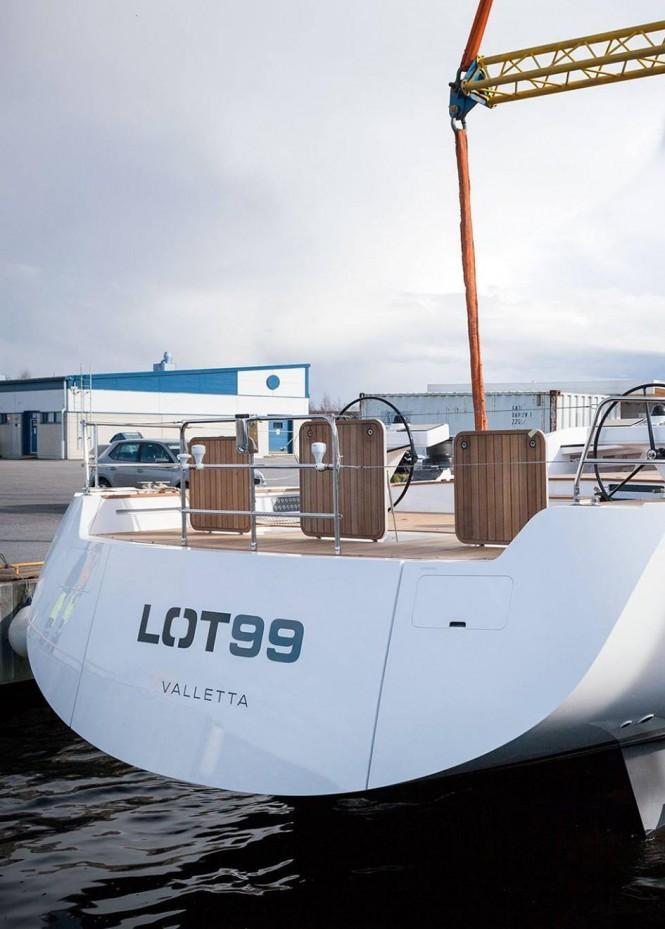 nautor's swan lot 99 sailing yacht-