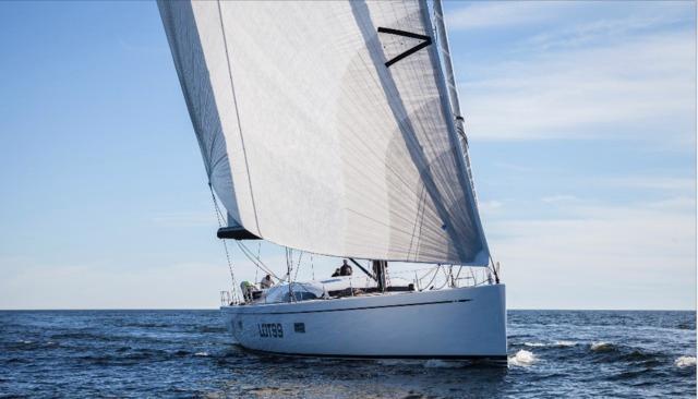 nautor's swan lot 99 sailing yacht-testing