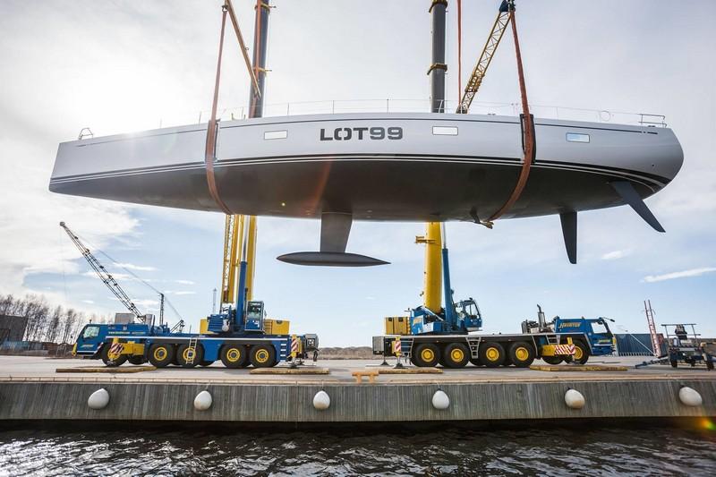 nautor's swan lot 99 sailing yacht