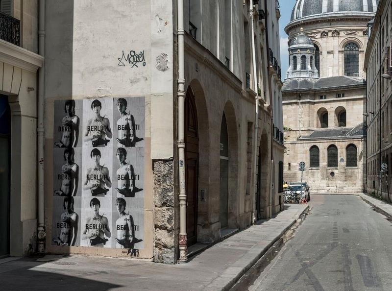 new Berlutti 2018 ad wall