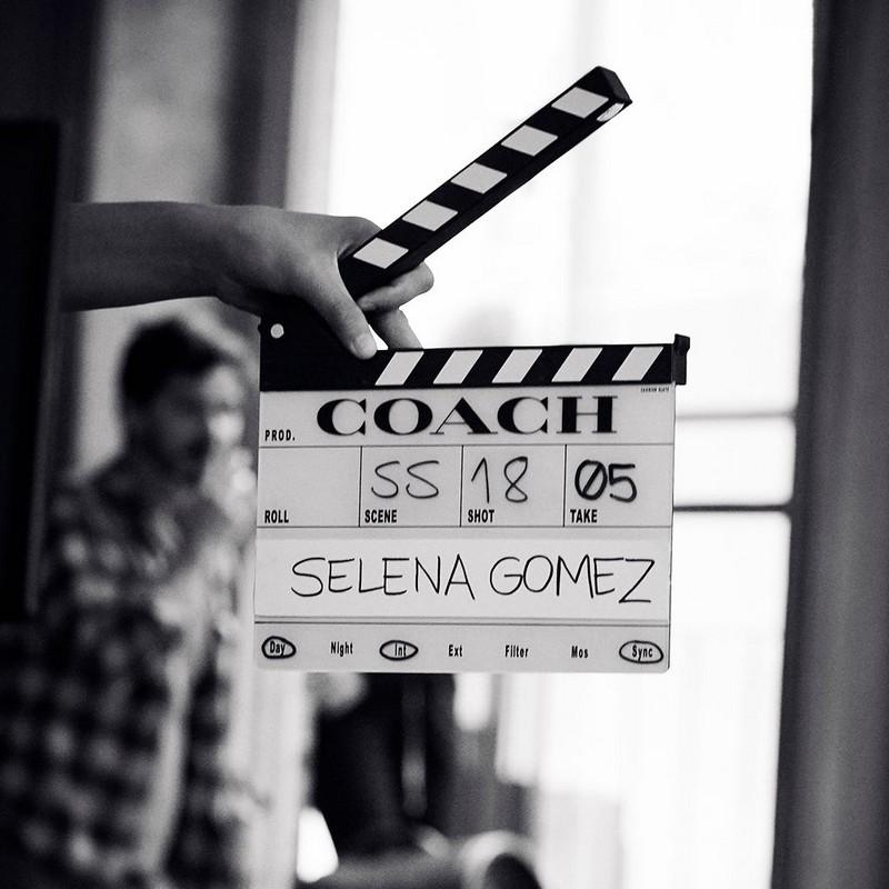 new Coach x Selena Gomez campaign