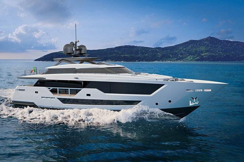 new Custom Line 106' project designed by Milan-based naval architect Francesco Paszkowski Design