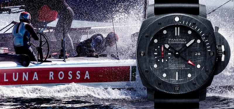new Panerai Submersible Luna Rossa