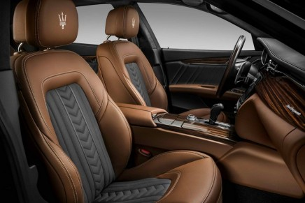 The Quattroporte has undergone a substantial restyling