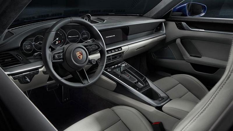 new porsche 911 - 2018-interior