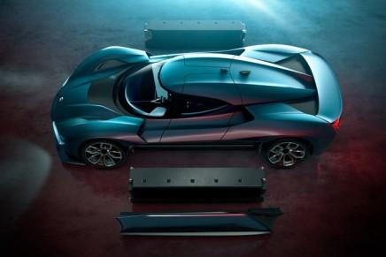 NextEV Nio Ep9 supercar is the world's fastest electric car