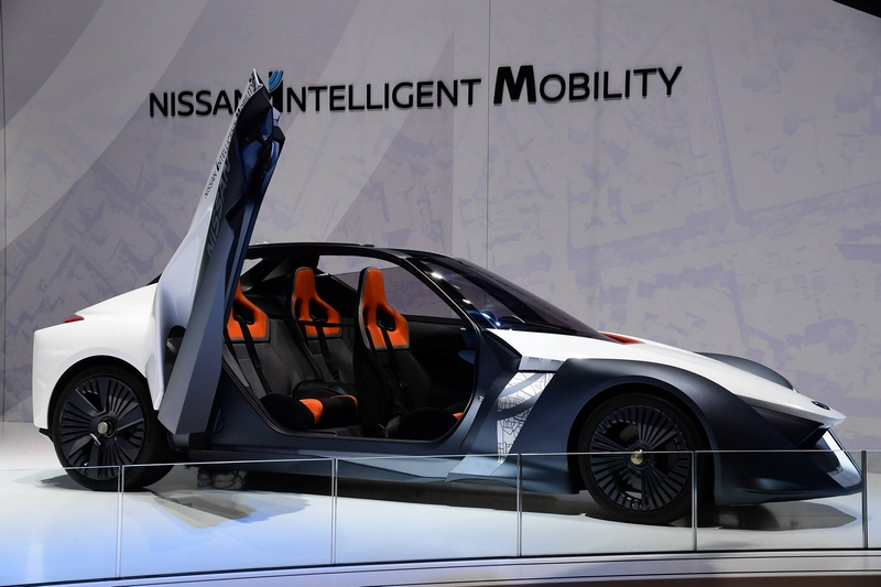 nissan at 2017 geneva motor show-BladeGlider brings cutting-edge Intelligent Mobility to life