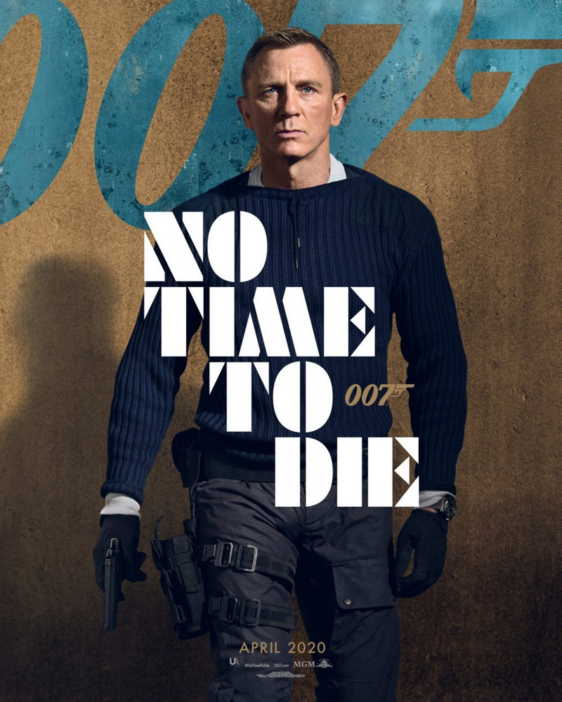 no time to die 007 poster