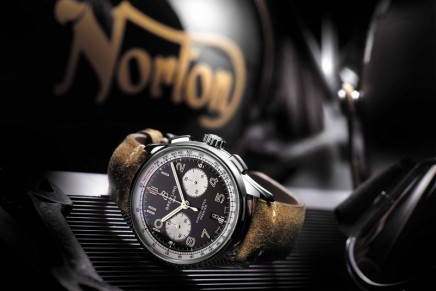 The Ultimate Accessory for Your Premier Norton Edition: The Norton Commando 961 Café Racer MKII Breitling Limited Edition Motorcycle