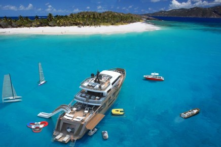 Oceanemo 33: All the benefits of a Sport Utility Yacht in just 33 meters