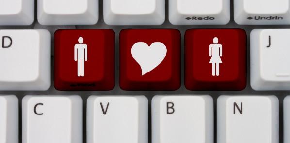online dating keyboard