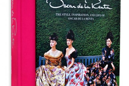 Fashion books: Oscar de la Renta speaks about his work.