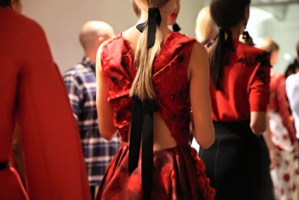 Oscar de la Renta at New York fashion week – sumptuous gowns and espadrilles