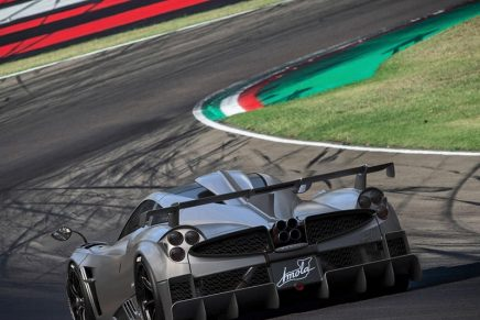Five million euros Pagani Imola: Limited-run, just five models built, all sold
