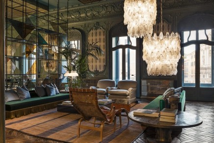Refurbished Palazzo Fendi hosts largest boutique in the world, the very first Fendi hotel, and renowned restaurant Zuma