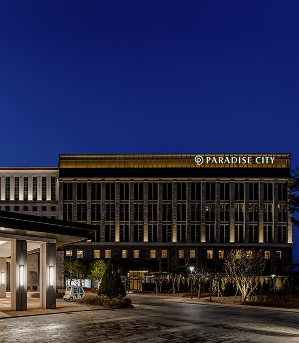 paradise hotel and resort korea