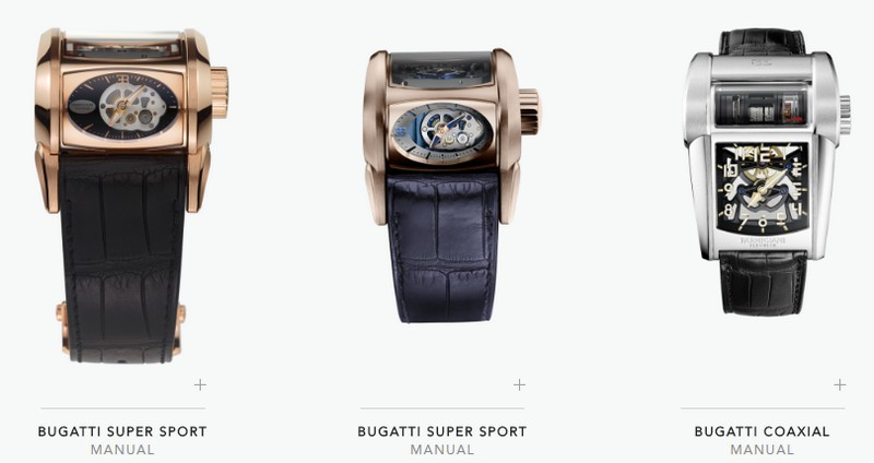 parmigiani bugatti collection watches