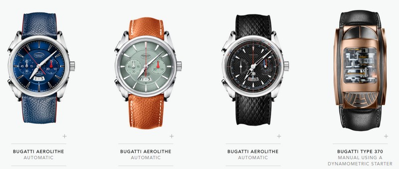 parmigiani bugatti collection