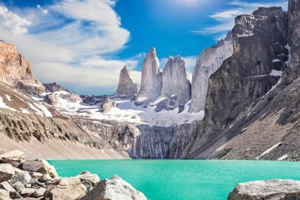 Condor moments: trekking in Patagonia
