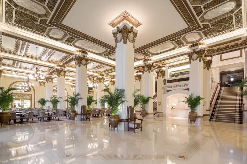 peninsula hong kong afternoon tea-lobby
