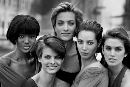 Peter Lindbergh's best photograph: the birth of the supermodels