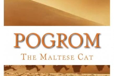 The Maltese Cat is back in action in Pogrom, the second book in The Maltese Cat Book Series