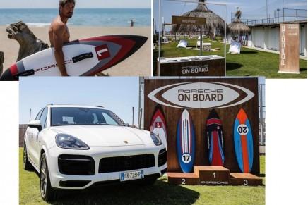 Porsche is focusing on board-based water sports