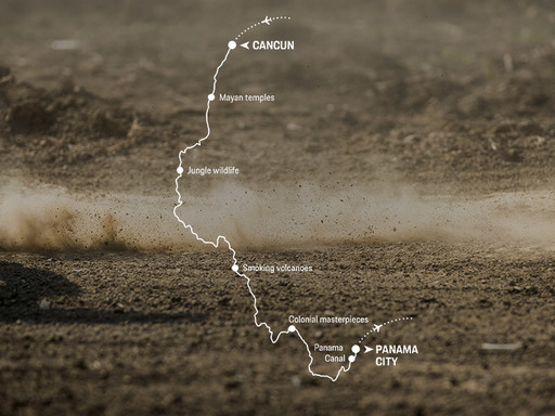 porsche-world expedition 2018- expedition 4 in Cental America